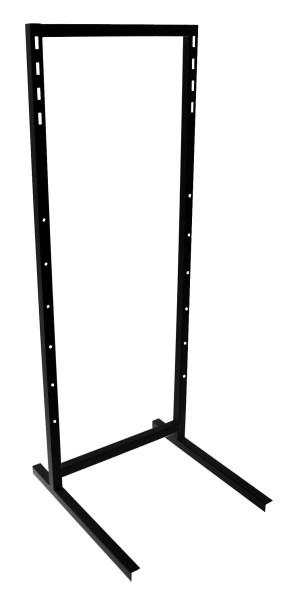 Торговая стойка ВМ (ноги 3х7) черная