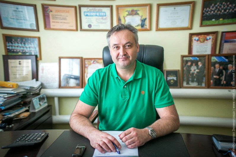 Генеральный директор - Титов Андрей Михайлович