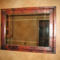 Island Kitchen Rolling Frames And Mirrors - Mountain Copper Creations