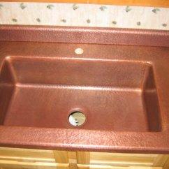 Farm Kitchen Sink 30 Montana Made Copper