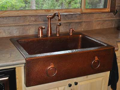 copper kitchen sinks pan set farm front page 2 of mountain creations rustic sink zoom in read more