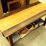 Ronno Cooke – Coffee Table Curly Oak