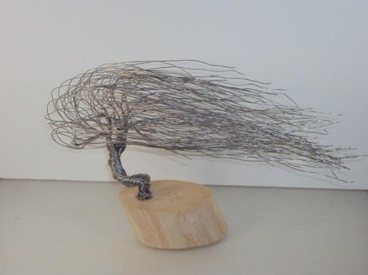 Wire Art - Bonsai Tree Sculptures by Jim Beghtol