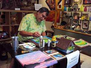 Rick Hills - Painting