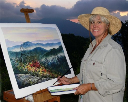 Jo_Ridge_Kelley_Watercolor _Demonstration