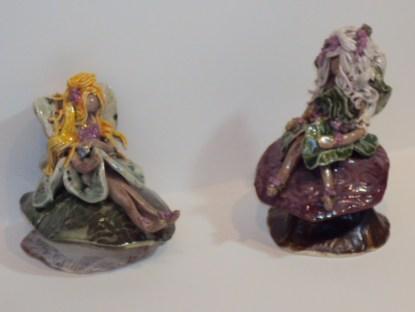 Fairy Gardens - ceramic fairies and pixies