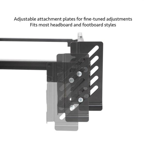 Steelock® Adaptable Hook-In Headboard Footboard Bed Frame