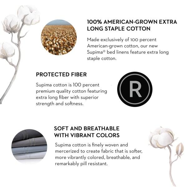 Supima® Cotton Sheets