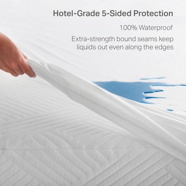 Weekender Hotel-Grade 5-Sided Mattress Protector, Cal King