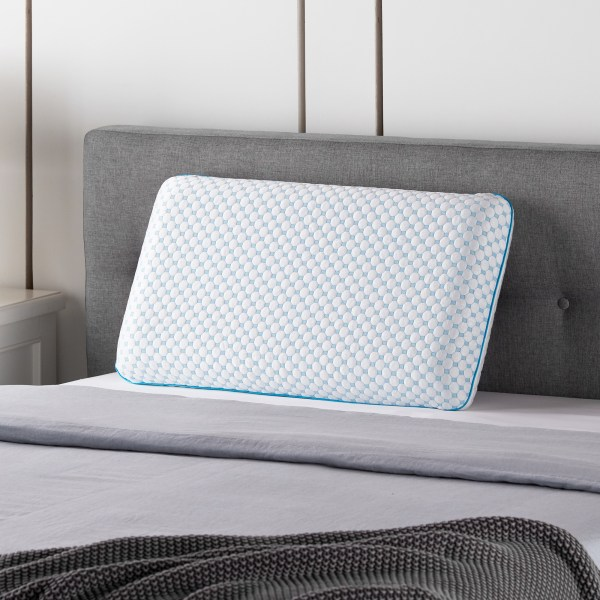 Weekender Gel Memory Foam Pillow + Reversible Cooling Cover