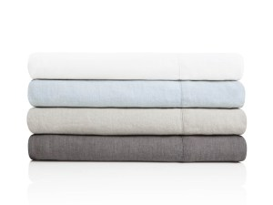 French Linen Cal King Charcoal
