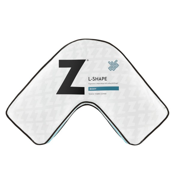 Z Gel Dough L-Shape Pillow