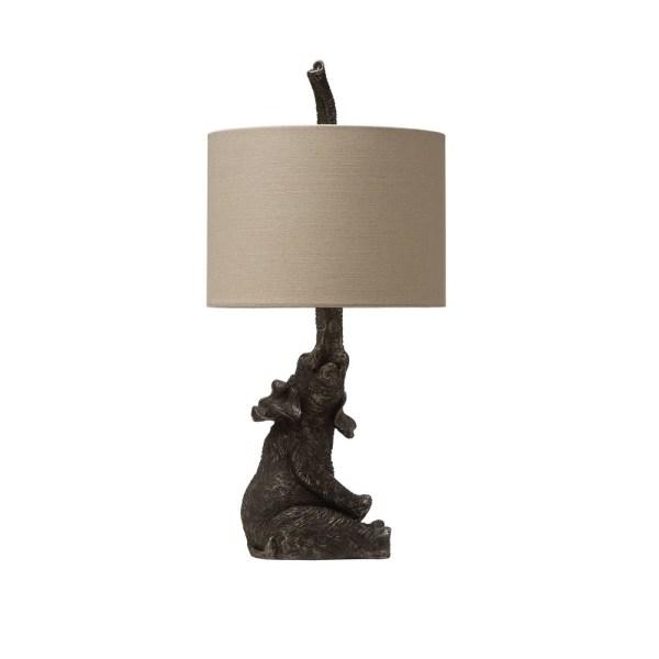Resin Elephant Table Lamp