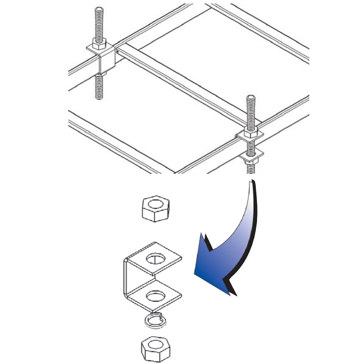 Runway Support Clip Kit