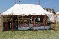 Turkey Roost Trading Tent