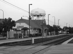 Modern Train Station Mount Prospect IL