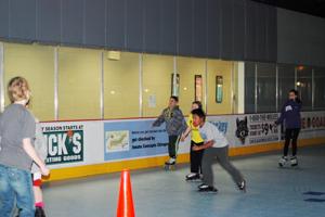 skating party at the CCC