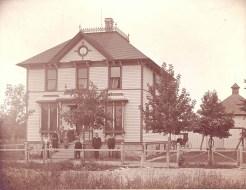 Home of William Busse, 1899