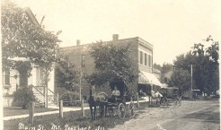 Home of William Busse and the William Busse Jr. Dry Goods Store, circa early 1900s