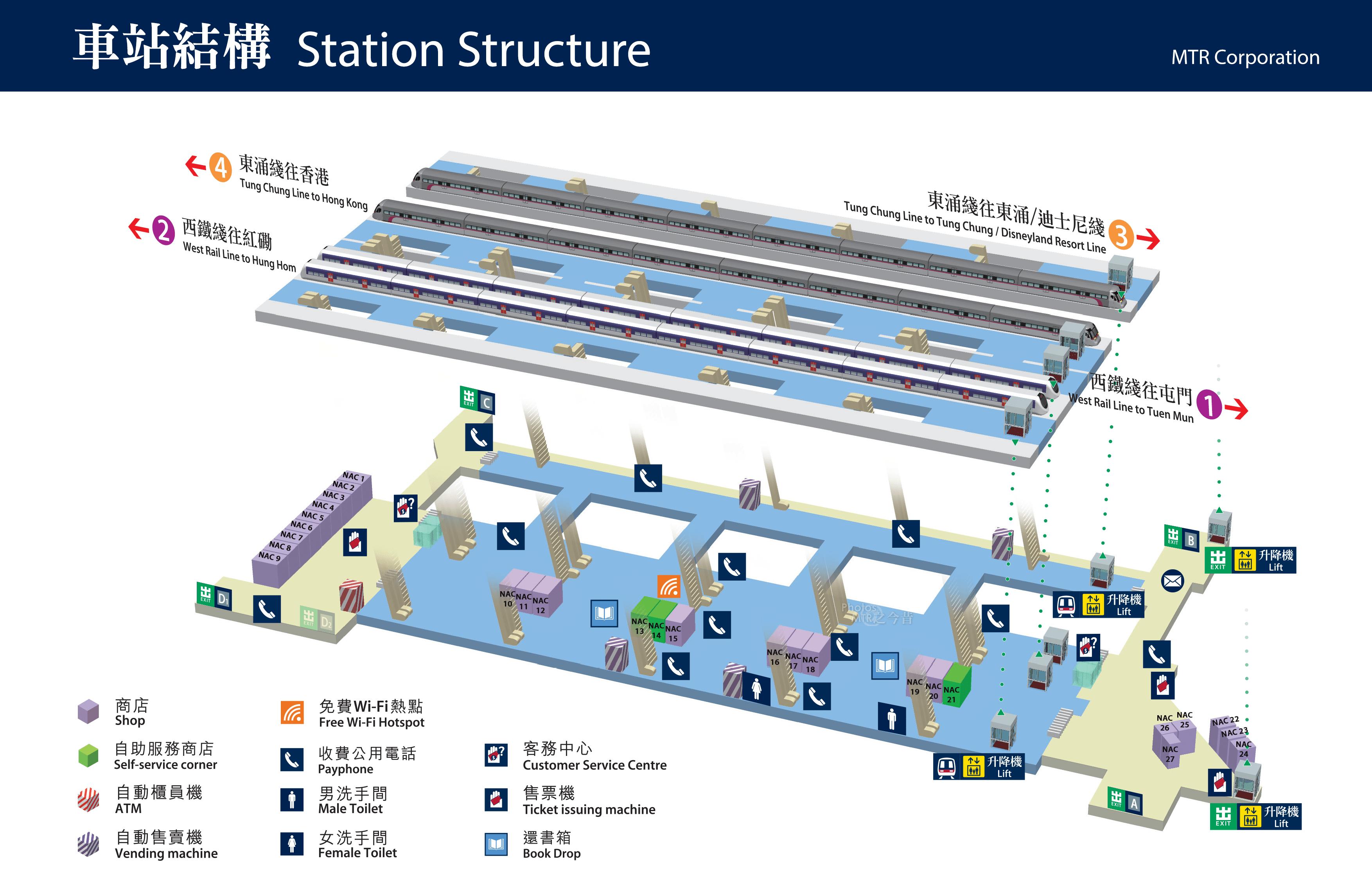 南昌站 - Nam Cheong Station