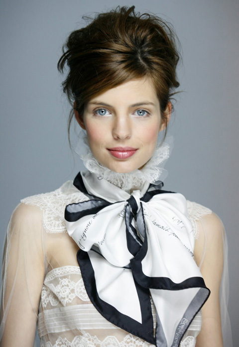 Baudelaire scarf _ Ashley Ashoff