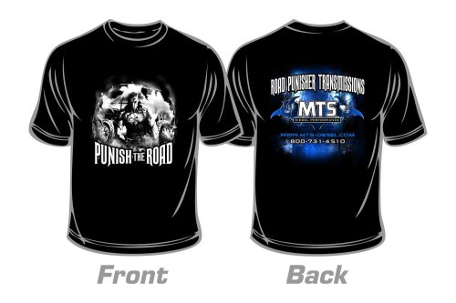 small resolution of large road punisher t shirt