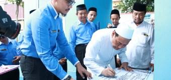 Kiai Mutawakkil Resmikan Sentra Usaha Madrasah Milik MTs. Zaha
