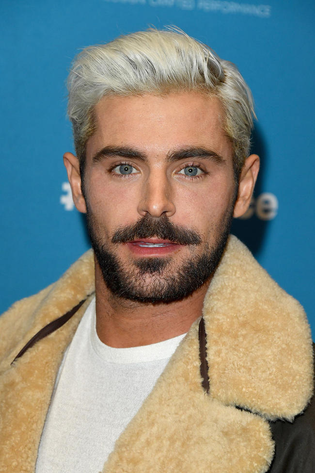 Zac Efron Has Dyed His Hair And The Internet Has
