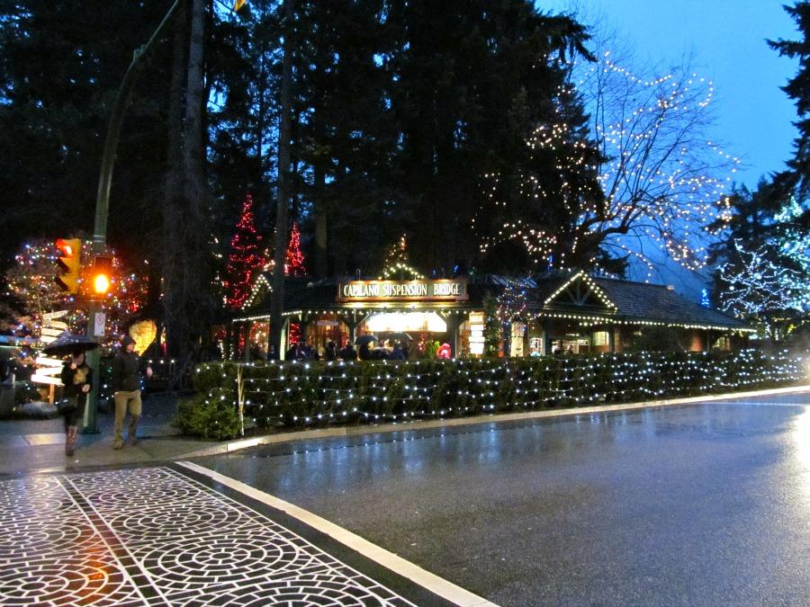 Рождественские огни в Ванкувере