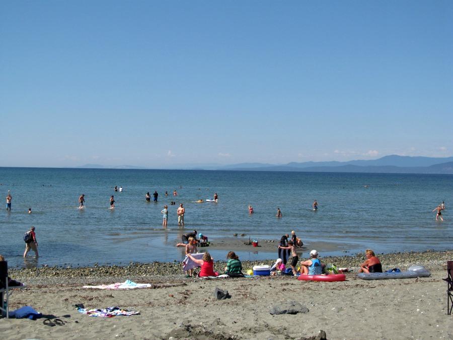 пляжи на острове Ванкувер
