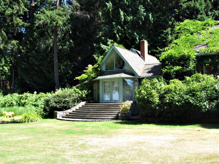 сады на острове Ванкувер