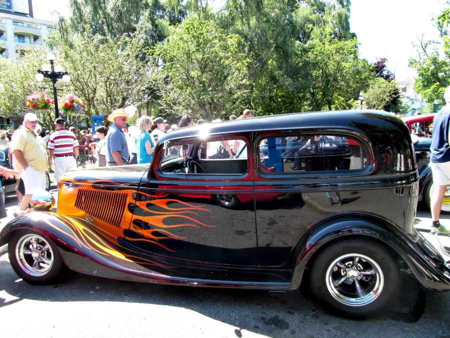 выставка старых машин