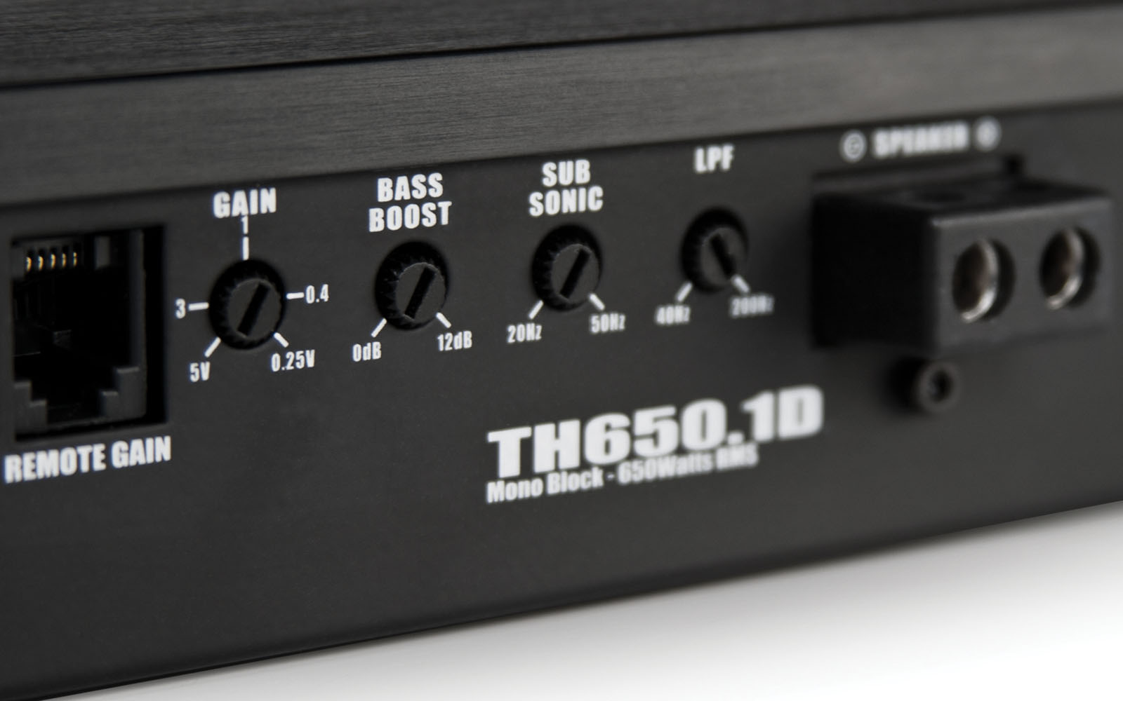 TH6501D 650W Car Amplifier  MTX Audio  Serious About Sound