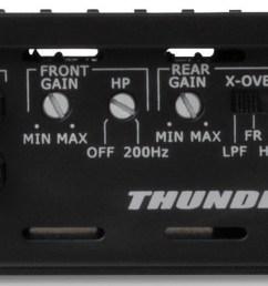 thunder series 400 watt rms 4 channel class ab amplifier mtx audio serious about sound  [ 1600 x 597 Pixel ]