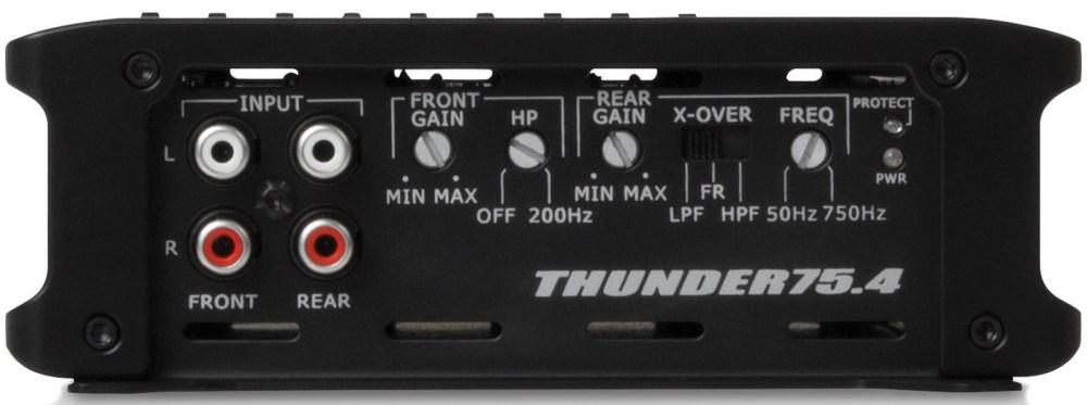 medium resolution of thunder series 400 watt rms 4 channel class ab amplifier mtx audio serious about sound