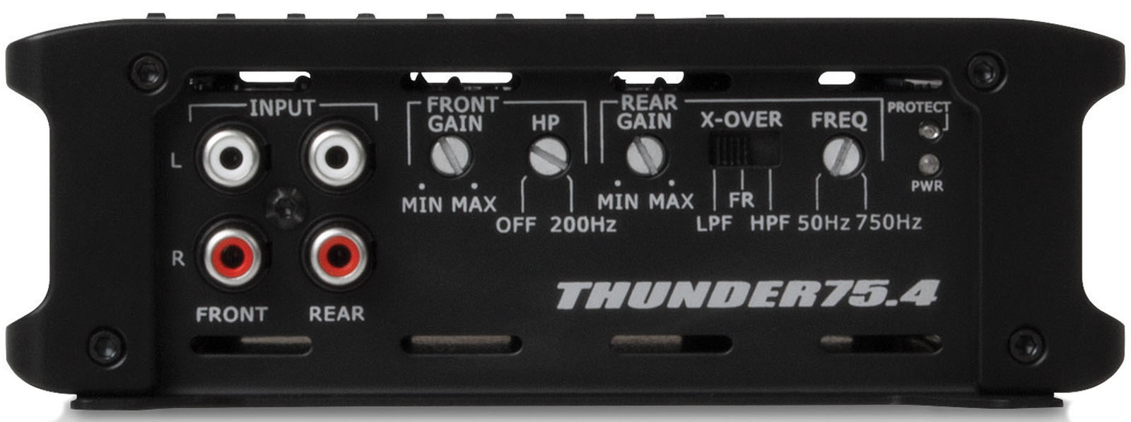 hight resolution of thunder series 400 watt rms 4 channel class ab amplifier mtx audio serious about sound