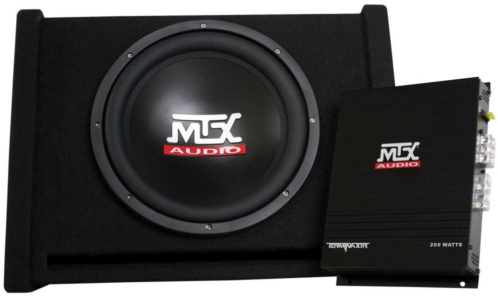medium resolution of tnp112d mtx car subwoofer enclosure and amplifier mtx audio serious about sound