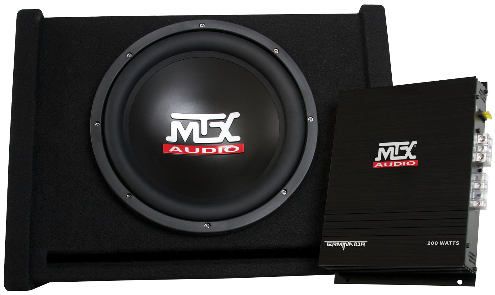 hight resolution of tnp112d mtx car subwoofer enclosure and amplifier mtx audio serious about sound