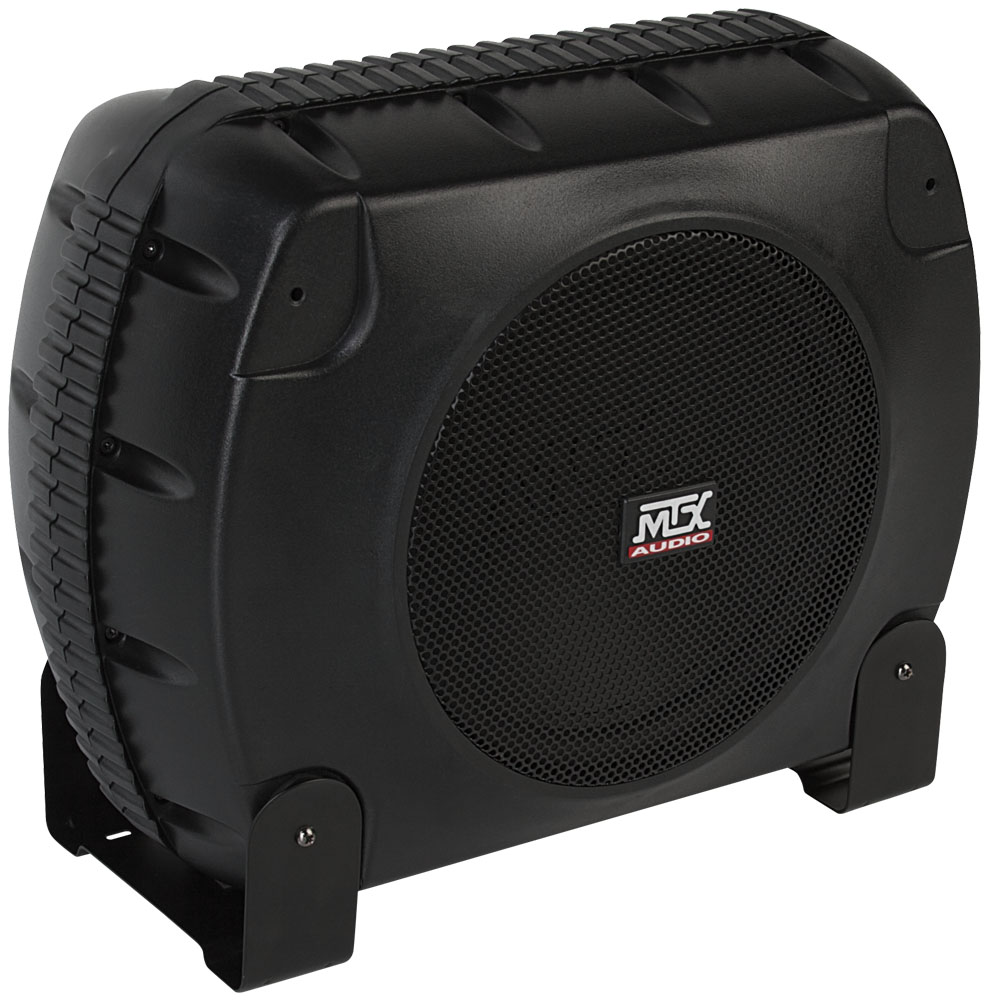medium resolution of xtl110p powered car subwoofer enclosure mtx audio serious about sound