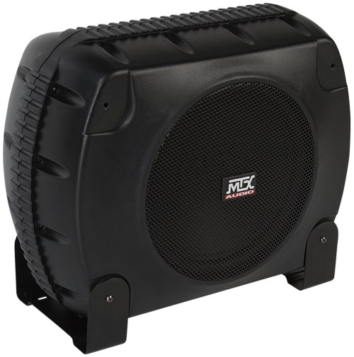 small resolution of xtl110p powered car subwoofer enclosure mtx audio serious about sound