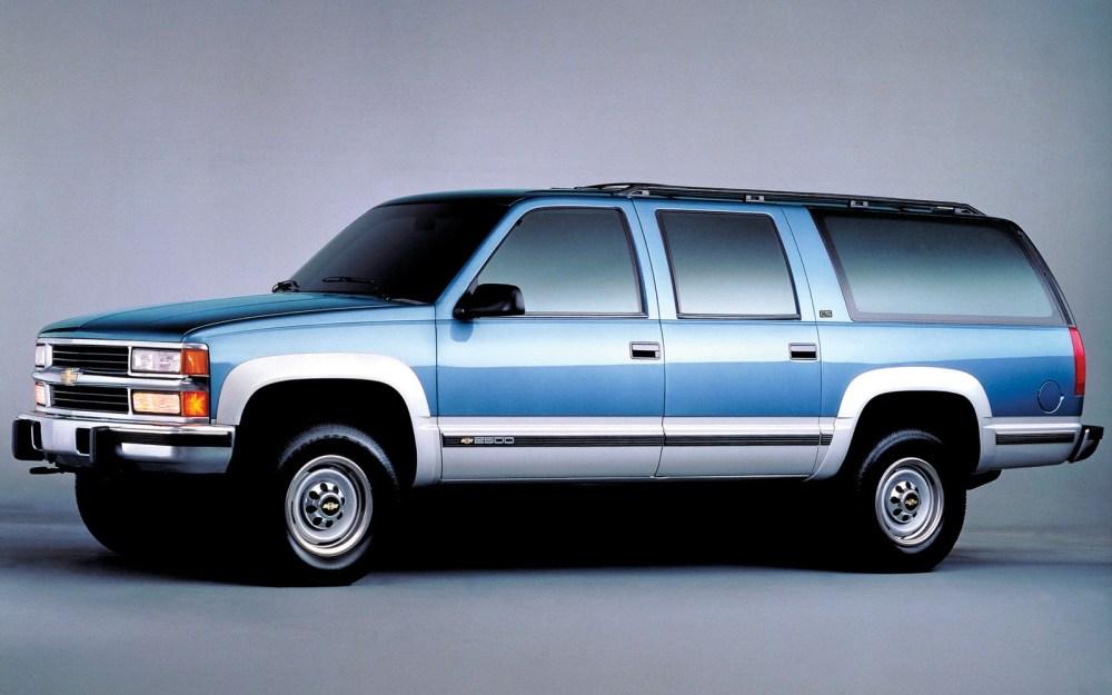 medium resolution of chevy suburban 1992 2000 thunderform custom subwoofer enclosure mtx audio serious about sound