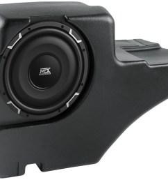 chevrolet tahoe 2001 2006 thunderform custom amplified subwoofer enclosure mtx audio serious about sound  [ 1315 x 1000 Pixel ]