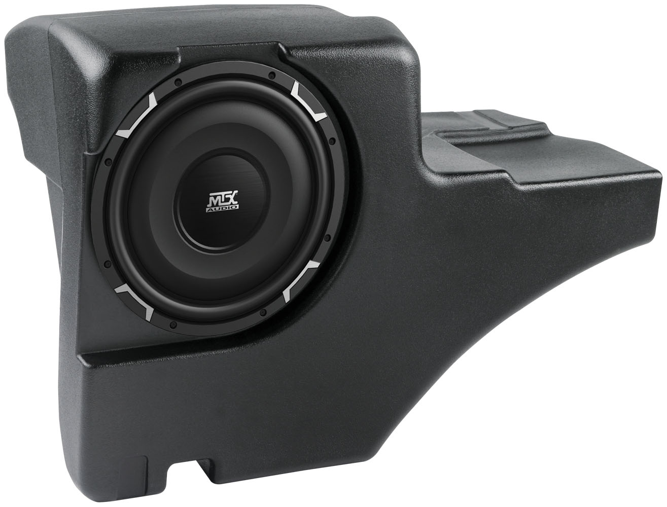hight resolution of chevrolet tahoe 2001 2006 thunderform custom amplified subwoofer enclosure mtx audio serious about sound
