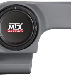 dodge magnum 2005 2008 thunderform custom subwoofer enclosure mtx audio serious about sound  [ 1600 x 1000 Pixel ]