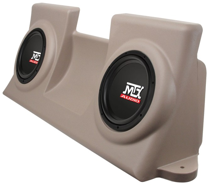 Picture Of Dodge Magnum Loaded 10 Inch 200w Rms 4 Ohm Vehicle Specific Custom Subwoofer Enclosure