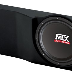 ford f 150 crew cab ext cab 2004 2008 thunderform custom subwoofer enclosure mtx audio serious about sound  [ 1600 x 931 Pixel ]