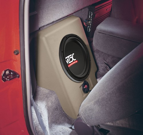 small resolution of ford ranger regular cab 1993 1997 thunderform custom subwoofer enclosure mtx audio serious about sound