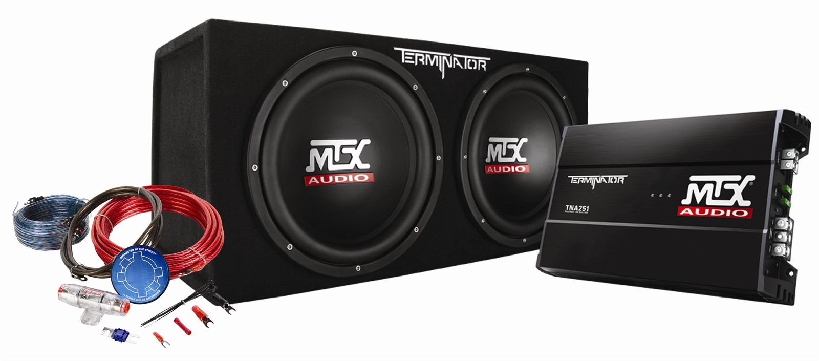 hight resolution of tnp212d2kit mtx car subwoofer enclosure amp wiring pckg mtx audio serious about sound