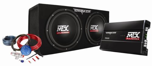 small resolution of tnp212d2kit mtx car subwoofer enclosure amp wiring pckg mtx audio serious about sound