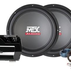 bass package thunder 600w amplifier 15 subwoofer mtx audio serious about sound  [ 1600 x 1000 Pixel ]